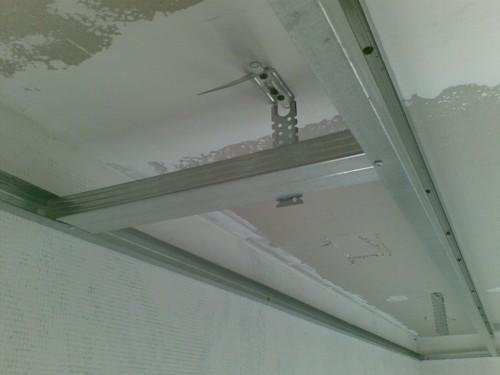 Как сделать потолок из гипсокартона фигурный видео инструкция - 3de0