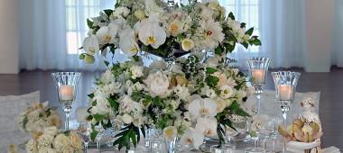 Как оформить свадьбу при помощи цветов