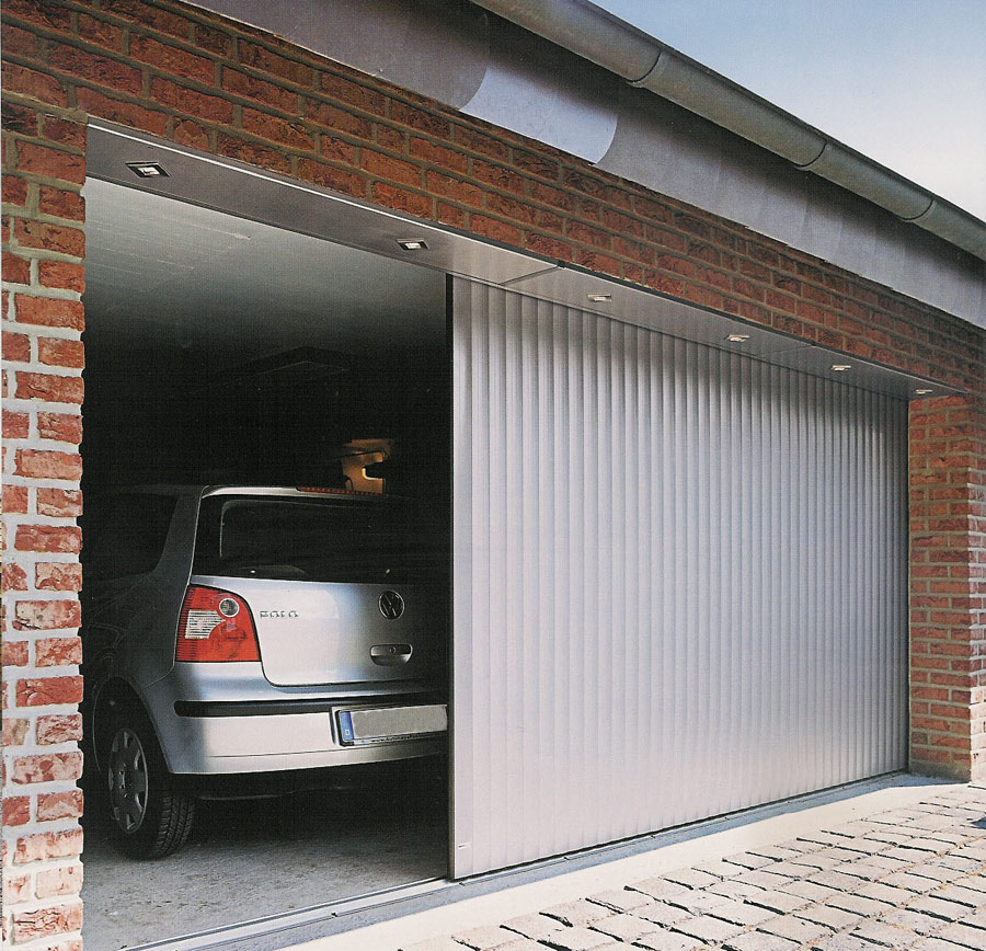 Ворота на гараж откатные