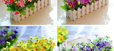 Как выбрать искусственные цветы