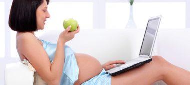 Телевизор при беременности
